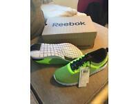 Brand new full flex reebok trainers UK9.5