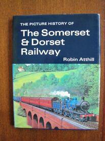 Railway book The Somerset & Dorset Railway A Picture History Hardback