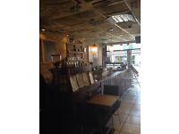 Cafe shop and pizzeria