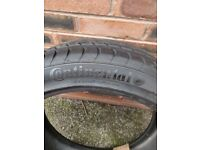 245 40 20 Continental tyre repaired professionally