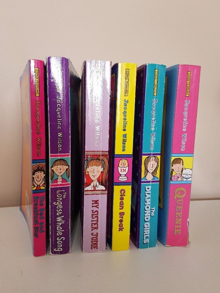 Jacqueline Wilson childrens books
