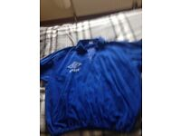 Rangers fc 80s training top size large very rare to buy these days £25 Ono to clear