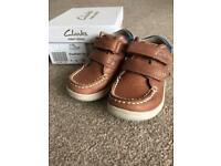 Clarks toddler shoes, size 4G