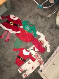 Baby girl Christmas bundle 0-3
