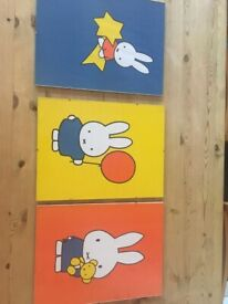 Framed Miffy pictures