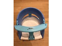 Baby bath seat (dreambaby) from 6 months, blue