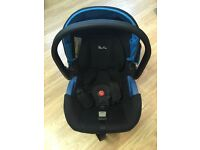 Silver cross car seat blue