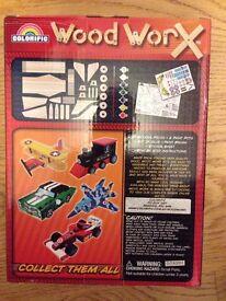 Wood Worx Wooden airplane Kit - BRAND NEW UNUSED - Great Christmas gift