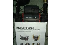 Grundfos dual impeller shower pump