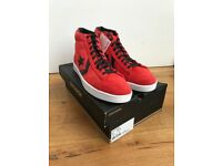 NEW/RARE Converse Pro Leather PLUS trainers Red/Orange / Mens UK 10/Euro 45