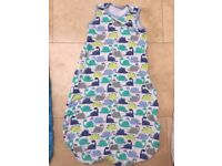 Sleeping bag Mothercare Dinosaur design 18-36 months 1 tog