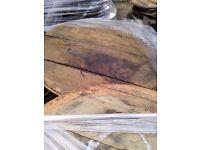 Oak Whisky Barrel Ends/Lids