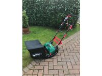 Qualcast electric rear roller cylinder mower