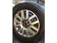 Nissan Pathfinder 2012 Spare Wheel - USED - Bald Tyres