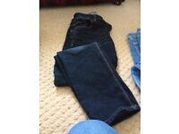 Two pairs kids jeans