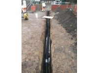 DIGGER & DUMPER HIRE WITH OR WITHOUT OPERATOR, TRENCHES DUG FOR WATER/GAS/ELECTRIC, CABLE DUCTING