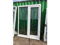 Upvc French patio door tilt slide summerhouse man cave hot tub room doors