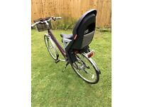 "Claude Butler Odyssey 15"" Ladies bike. Brand new, with front basket and rear child seat."