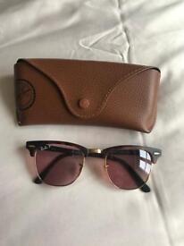 RayBans Clubmaster Polarised Sunglasses