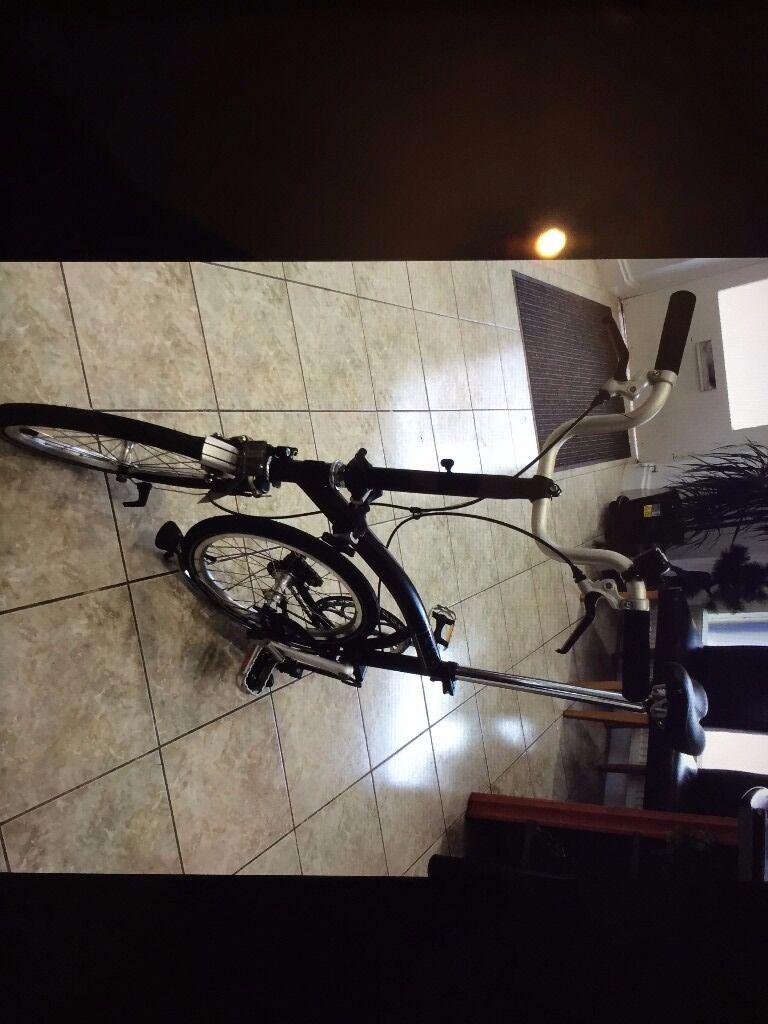 A brand new undamaged (boxed) Brompton folding bike