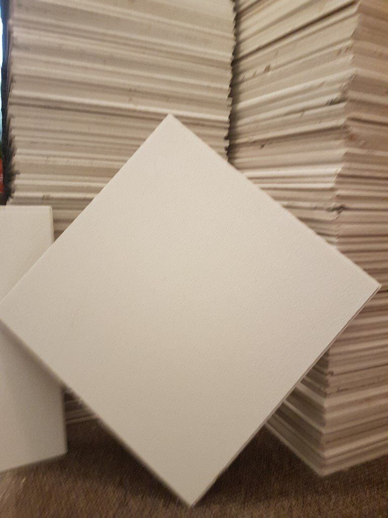 Used Armstrong dune supreme perforated board 600x600mm square ...