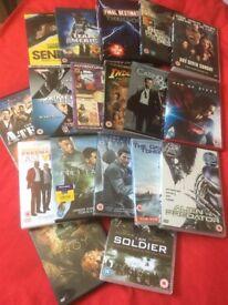 Bundle of 18 DVD's