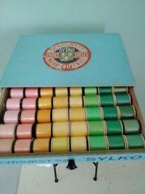 Dewhurst's Sylko sewing box