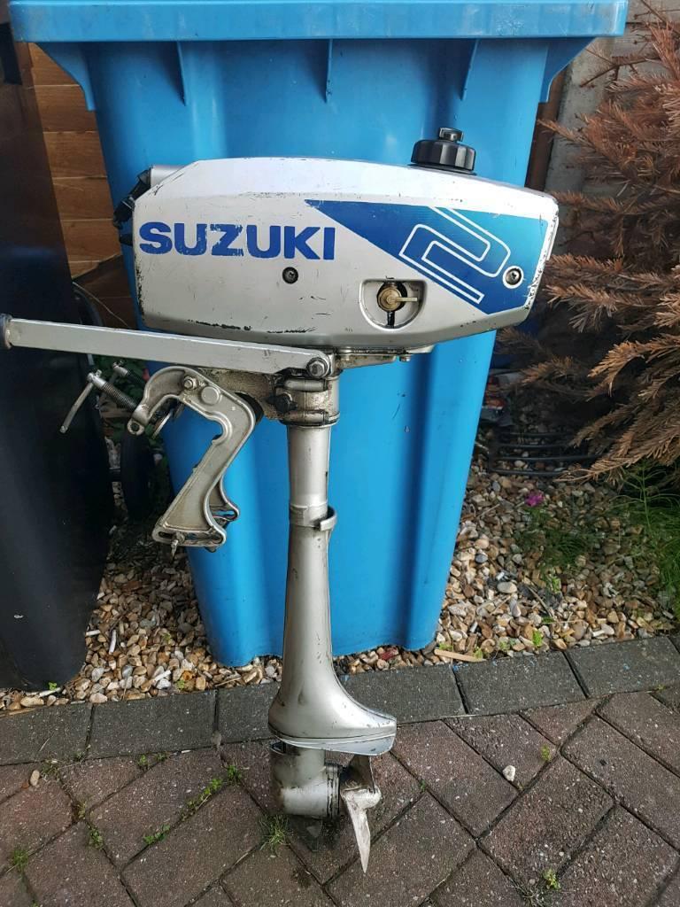 Suzuki dt2 2hp outboard boat motor | in Poole, Dorset | Gumtree