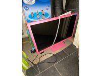 "22"" pink Alba tv HD"