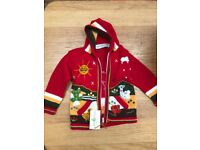 Beautiful hooded jumper for kids
