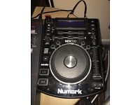 Numark ndx 500 cdjs decks With American audio 14mxr mixer (not pioneer)