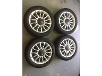 Fiat 500 wheels and winter tyres