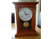 London Clock Company chiming mantel clock