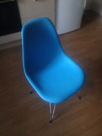 Charles Eames Style DSR Eiffel Chairs (set of 5)