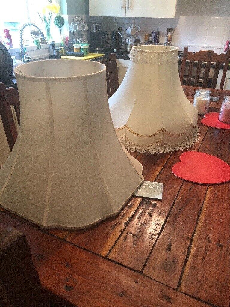 2 massive Lamp shades
