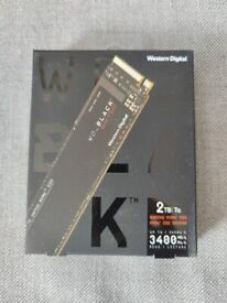 WD BLACK SN750 2TB M.2 NVMe Internal Gaming SSD NEW SEALED