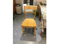 Pine table and 6 maple chairs available, kitchen now sold