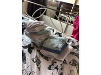 mossie baby feeding cloths and bib bundle