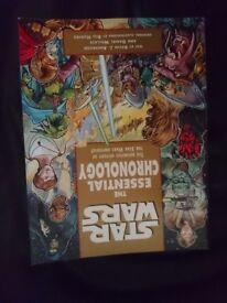 Rare Star wars book. The essential chronology