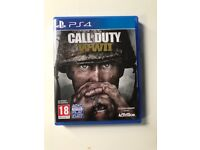 Call of duty ww2 for ps4 PlayStation 4