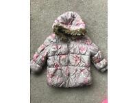 NEXT Girls coats 9-12 months, 12-18 months, 18-24 months