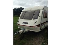 1991 Elddis Mistral GTX 2 Berth Touring Caravan