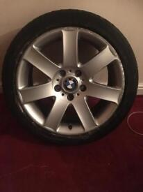 "Bmw 17"" alloy x1 wheel only"