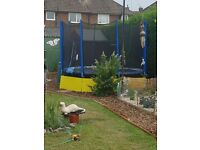 10ft trampoline with enclosure net