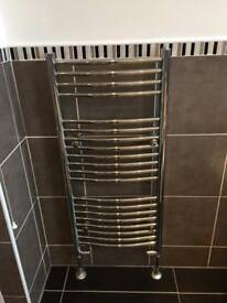 Chrome Bathroom Radiator