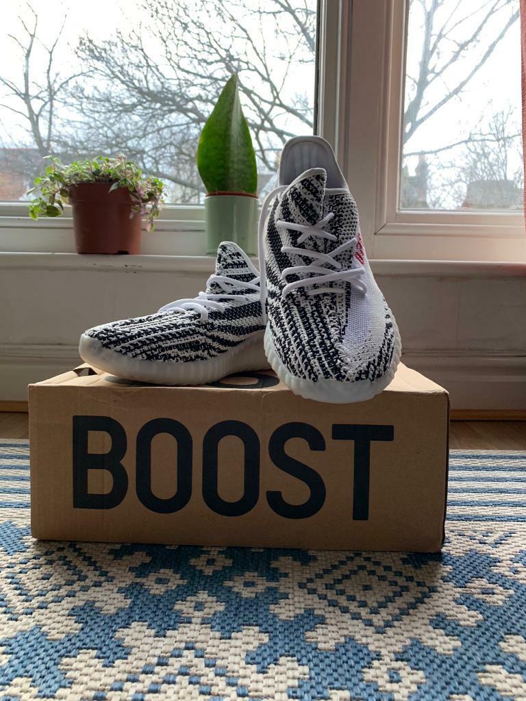 2f4af14d40f04 Adidas yeezy boost v2 zebra edition