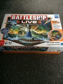 Battleship live electronic board game
