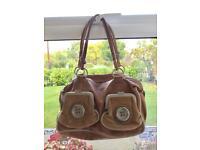 MIMCO brown leather bag