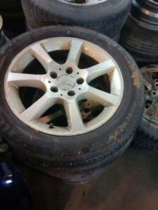 MERCEDES C 320 2003 MAGS WITH SUMMER TIRES 205/55/ R16