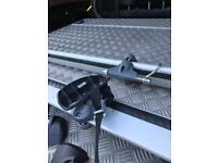 Roofbars roofrack to suit Volvo V60 complete with bike mount rack